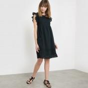 Платье с английской вышивкой, из 100% хлопка