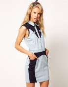 Оригинальное джинсовое молодежное платье Coast