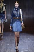 Стильное джинсовое платье Gucci