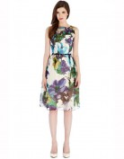 Легкое и невесомое летнее платье с ярким рисунком Coast
