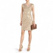 Вечернее короткое платье с открытой спинкой BCBG MaxAzria