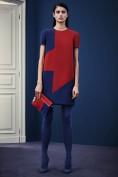 Оригинальное красно-синее платье Versace