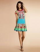 Цветное летнее платье с заниженной талией Emilio Pucci