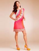 Стильное летнее розовое платье Emilio Pucci
