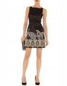 Чёрное платье с вышивкой Asos
