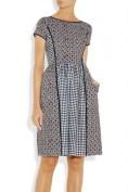 Серое платье свободного кроя Roberto Cavalli