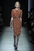 Винтажное платье в цветочек Bottega Veneta