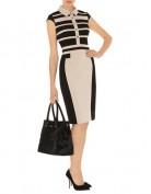 Бежевое платье в деловом стиле Asos
