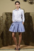 Очаровательное платье в полоску Christian Pellizzari
