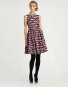 Фиолетовое платье в стиле 60-х Kate Spade