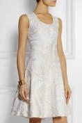 Нежное шелковое платье а-силуэта Roberto Cavalli