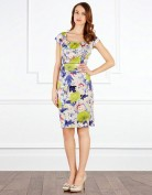 Женственное зеленое платье Coast