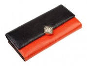 Кошелек ZAO3042-2583 black/orange (Eleganzza)