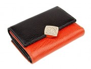 Кошелек ZAO3042-2584 black/orange (Eleganzza)