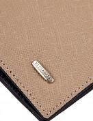 Обложка для документов Z3448-3847 beige/black (Eleganzza)