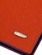 Обложка для документов Z3448-3847 orange/purple (Eleganzza)