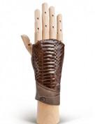 Перчатки женские без пальцев 260 brown (Eleganzza)