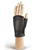Перчатки женские без пальцев 279 black (Eleganzza)