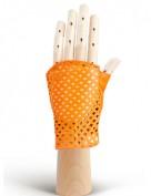 Перчатки женские без пальцев 280 orange (Eleganzza)