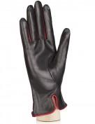 Перчатки женские (шерсть и кашемир) TOUCH IS02074 black/red (Eleganzza)