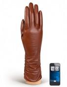 Перчатки женские (шерсть и кашемир) TOUCH IS98328 cognac (Eleganzza)