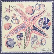 Платок женские шелк 65х65 B04-3166-17 (Eleganzza)
