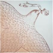 Платок женские шерсть+кашемир 135х135 A42-6005-11 (Eleganzza)