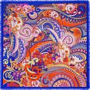 Платок женские шерсть+шелк 110х110 B43-3132-12 (Eleganzza)