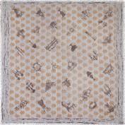 Платок женские шерсть+шелк 110х110 S43-0704-15 (Eleganzza)