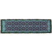 Шарф женские шелк+виск 53х175 D34-1145-14 (Eleganzza)
