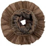 Шарф женские шерсть+шелк+лайкра 40х150 JC50-63278-12 (Eleganzza)
