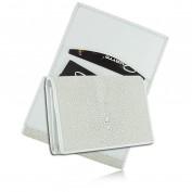 Визитница для своих визиток из кожи ската, AT-174 (Quarro)