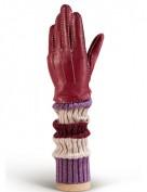 Женские перчатки 100% шерсть HS01100 merlot (Eleganzza)
